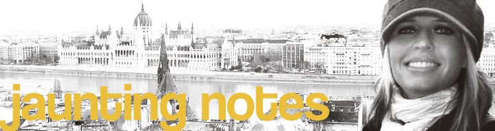 Jaunting notes from Budapest