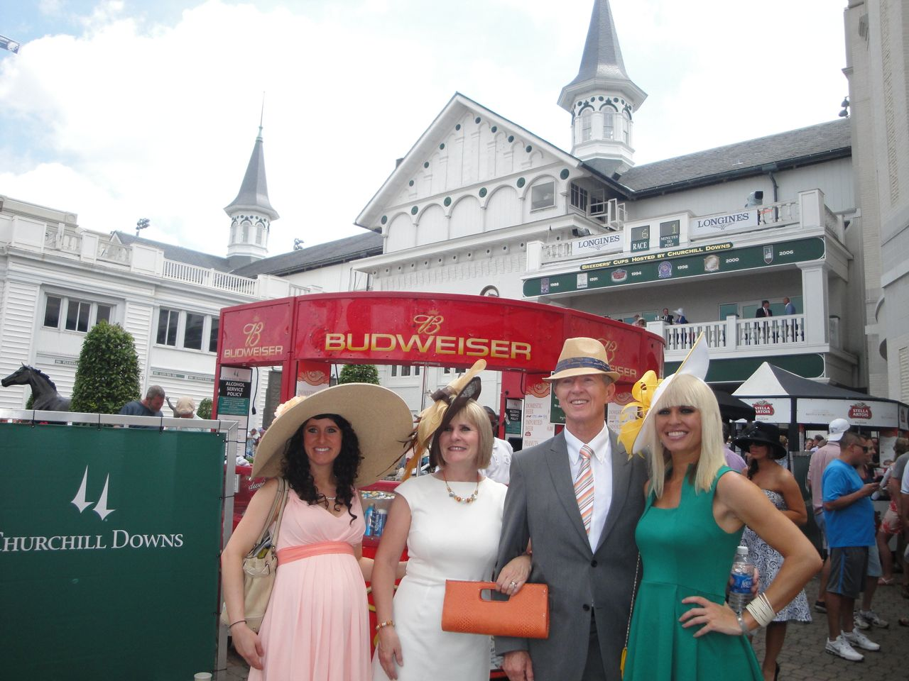 2012 Kentucky Derby with our Mom and Dad