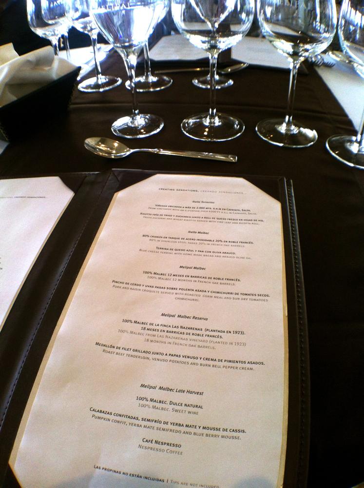 Melipal menu