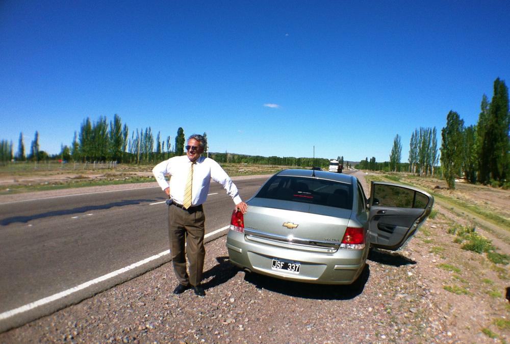 Our Driver, Pedro Quiroga