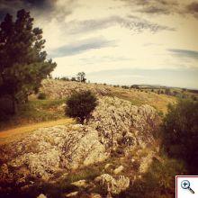 Rocky terrain of Maldonado