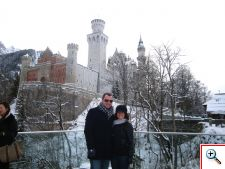 Nick and Jill at Neuschwanstein