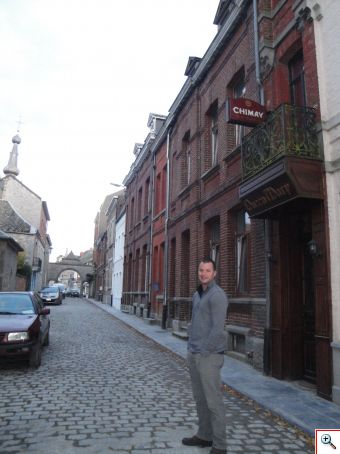 Nick in the actual town of Chimay