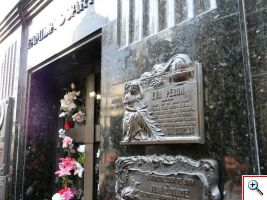 The resting place of Evita