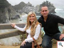 Julie and Jeff at Julie at Hyatt Carmel Highlands, CA