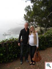 Jeff and  Julie in Carmel, CA