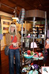 Jenny inside Fabricate in Northside, Cincinnati, OH