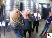 Bottoms up at La Azul Mendoza