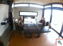 Our private room at O Fournier