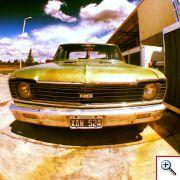 South American Vintage car