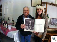I am meeting a real Mendoza wine legend! Carmello Patti