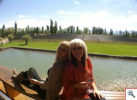 Julie and Jenny don't want to leave Mendoza