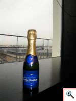 Nicholas Feuillatte Champagne with Eiffel Tower