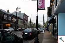 Hamilton Avenue in Northside, Cincinnati, OH