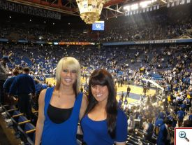 Jenny and Jill at Rupp in 2010