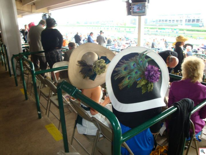 Big hats at the Derby